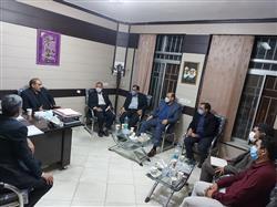 نشست راهبردی اعضای شورای اسلامی شهر و شهردار با نماینده مردم گناباد و بجستان